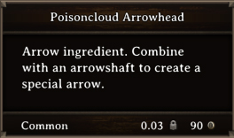 DOS Items CFT Poisoncloud Arrowhead