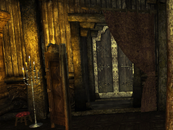 The Phoenix Inn - Bedwyr - Door