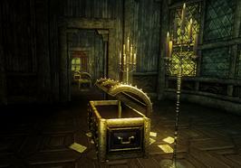 House of Secrets interior all treasure chests open (D2 FoV location)