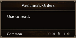 DOS Items Books Vaelanna's Orders