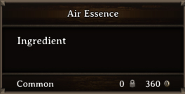 DOS Items CFT Air Essence
