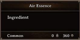 DOS Items CFT Air Essence