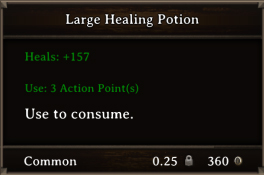 DOS Items Pots Large Healing Potion