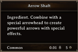 DOS Items CFT Arrow Shaft