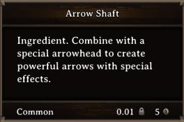 DOS Items CFT Arrow Shaft