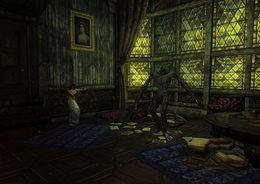 Servus and Alina's House interior alina and undead (D2 FoV location)