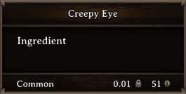 DOS Items CFT Creepy Eye