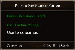 DOS Items Pots Poison Resistance Potion 2