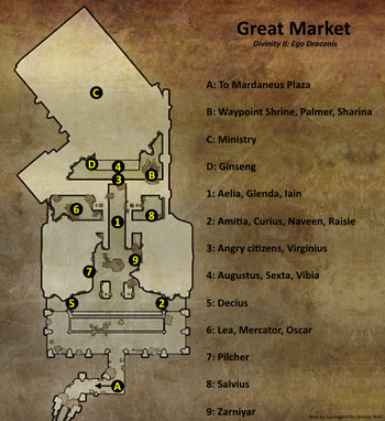 Great Market map (D2 EG location)