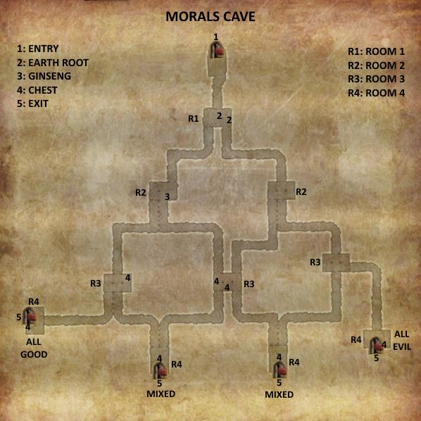 Divinity 2 Morals Cave map