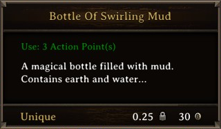 DOS Items Unique Bottle of Swirling Mud Stats
