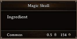 DOS Items CFT Magic Skull