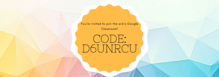 Join the Google Classroom