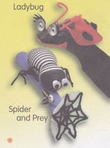Ladybug & Spider And Prey Socks Puppets