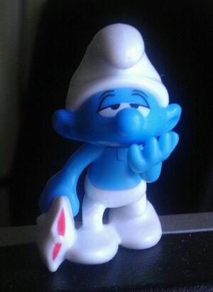 Lazy Smurf (a.k.a. Sleepy)