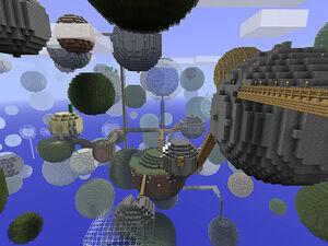 Minecraft - Planetoids