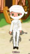 Dizzywood mummy costume