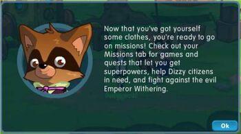Presto's welcome message