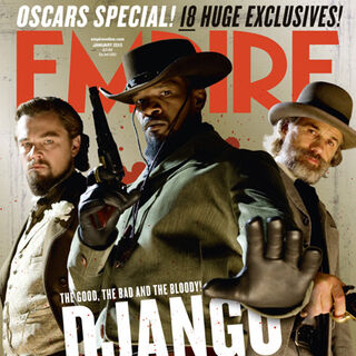 The cover of Empire Magazine