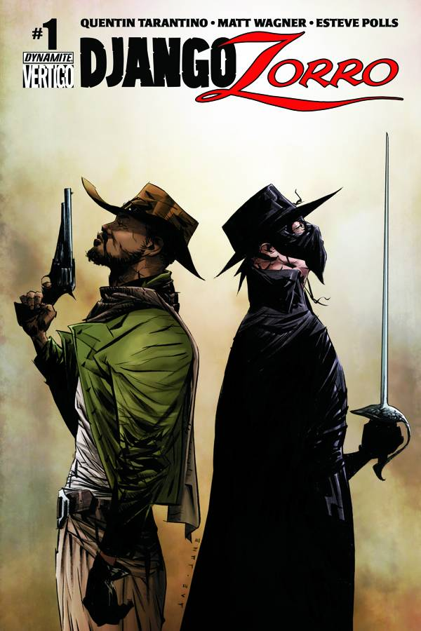 couverture comics Django / Zorro