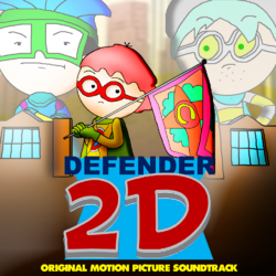 Defender 2D (2017) Soundtrack cover
