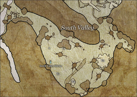 South Valley map