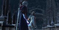 Неро встречает нового члена ордена- Глория