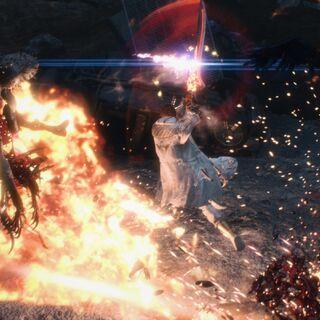 Неро использует Кровавую королеву.