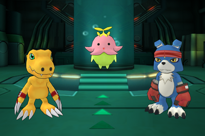 Digimon Masters Online Starters