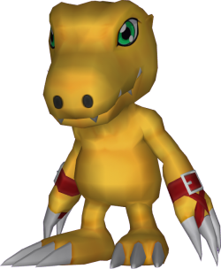 agumon digimon masters online wiki fandom powered by wikia