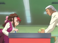 Episode 5 Disguised Riku VS Kaseda