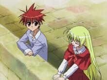 Episode 23 Freedert tells her story to Daisuke