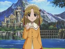 Episode 3 Misaki waves goodbye