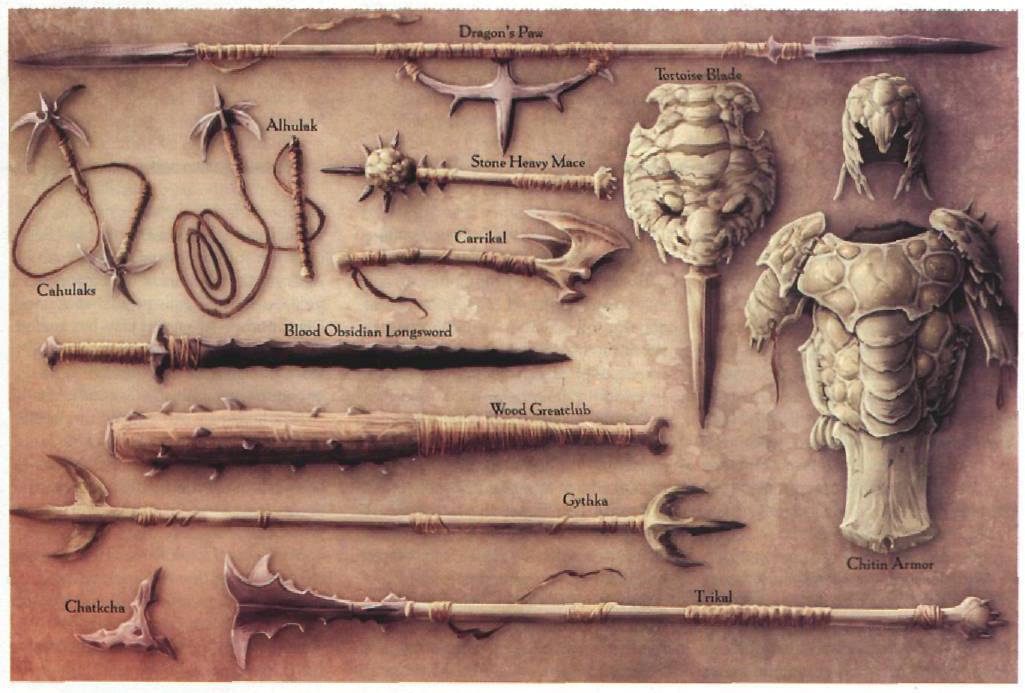 Weapons of Athas | Dnd 5e Dark Sun conversion progress Wikia