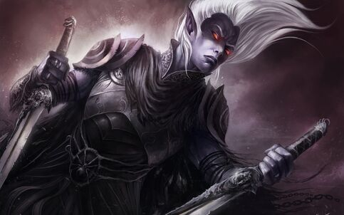 Fantasy-Art-Drizzt-Drow-Dark-Elf-Desktop-Images