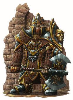 Gold dwarf - Ralph Horsley