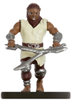 male shifter miniature with tunic and two swords