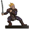 male gnome miniature with armor and one-handed sword