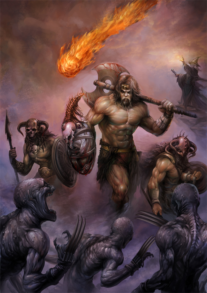 Barbarian | D&D4 Wiki | FANDOM powered by Wikia