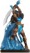 female human miniature with two-handed sword