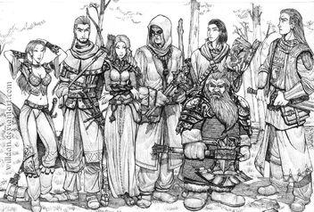 Fantasy fellowship by WillDan