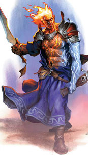 Genasi Sword Mage Male