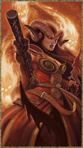 Tiefling Warlock Female