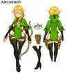Archer Character Sheet