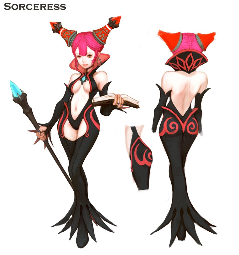 Sorceress | Dragon Nest SEA Wiki | FANDOM powered by Wikia