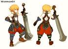 Warrior Character Sheet