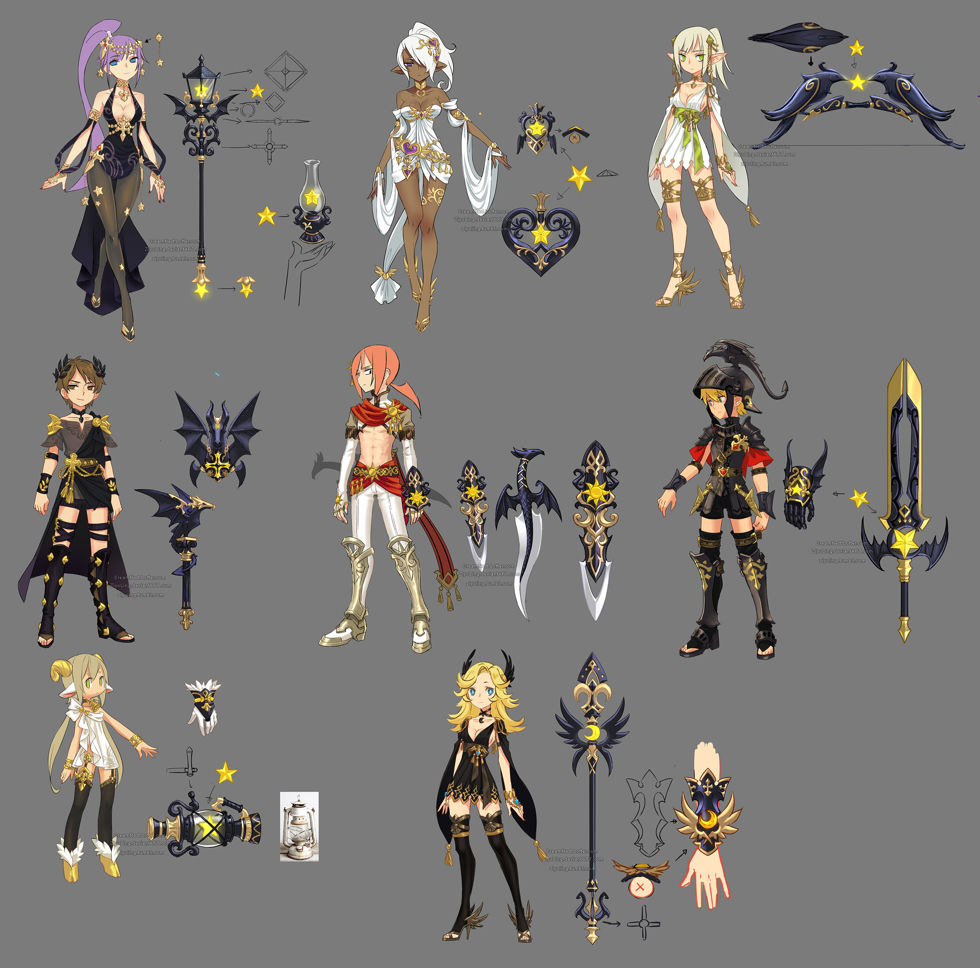 Myth Costume Weapons.jpg & Image - Myth Costume Weapons.jpg | Dragon Nest SEA Wiki | FANDOM ...