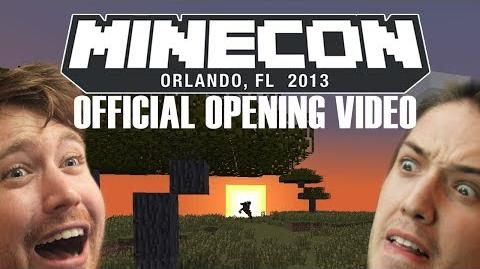 Minecon Orlando 2013 - OFFICIAL Opening Video!
