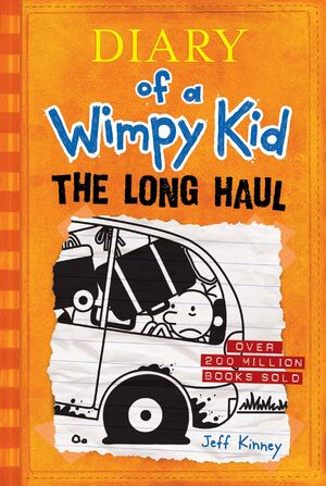 Diary of a Wimpy Kid The Long Haul cover