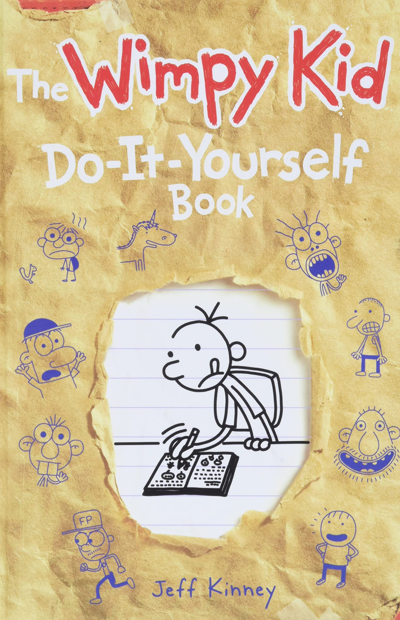 The wimpy kid do it yourself book diary of a wimpy kid wiki the wimpy kid do it yourself book solutioingenieria Choice Image